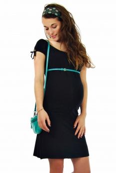 Robe de grossesse Citronnelle noire