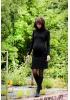 Robe de grossesse courte noire Lou