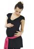 Tunique de grossesse Saskia noire