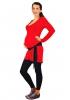 Tunique de grossesse Sirius rouge carmin