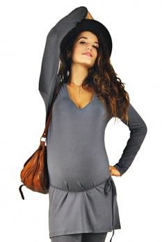 Tunique de grossesse Sirius grise