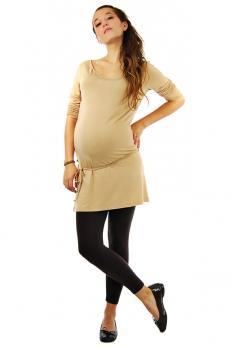Legging de grossesse chocolat