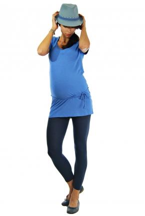 Legging de grossesse bleu nuit