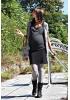 Jupe de grossesse courte noire Manon