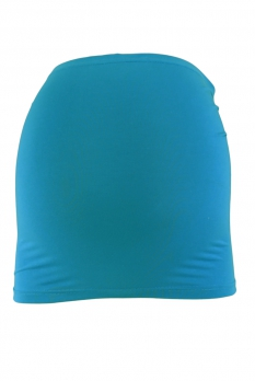 Bandeau de grossesse bleu canard