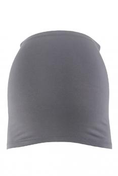 Bandeau de grossesse gris