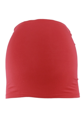 Bandeau de grossesse rouge carmin